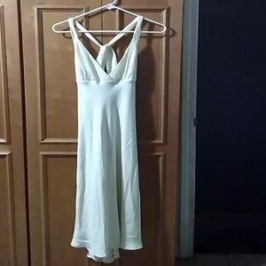 New with tags J Crew Avery silk cross back dress